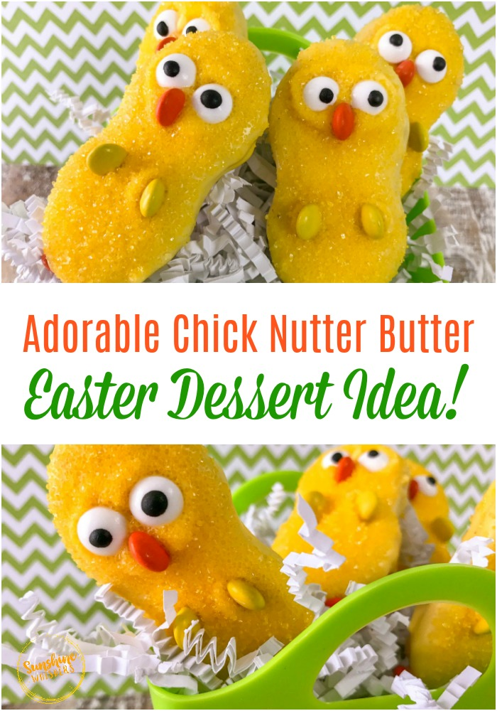 chick easter dessert idea