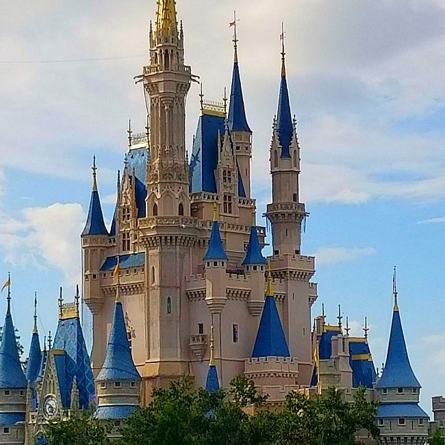 tomorrowland cinderella castle shot