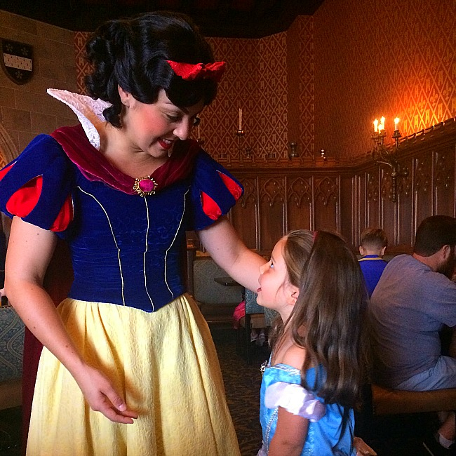 snow white character meal