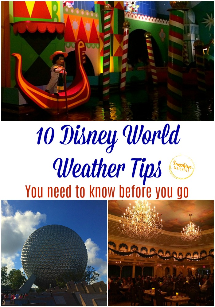 disney world weather tips