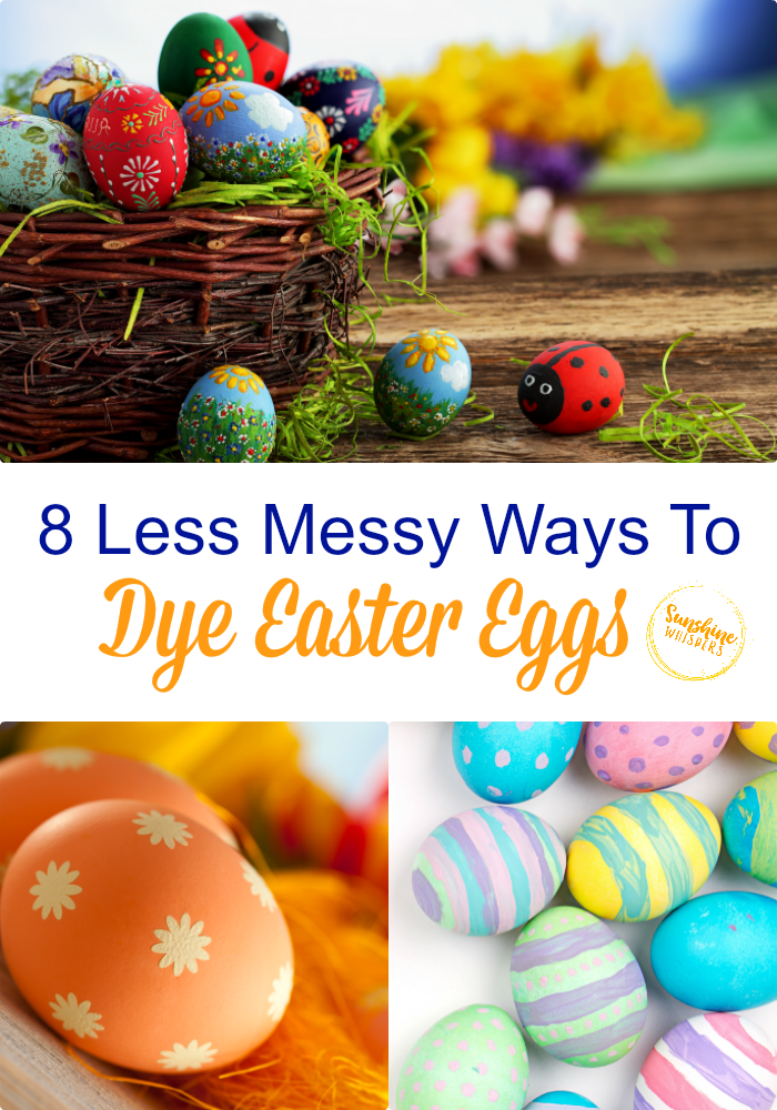decorate easter eggs without dye