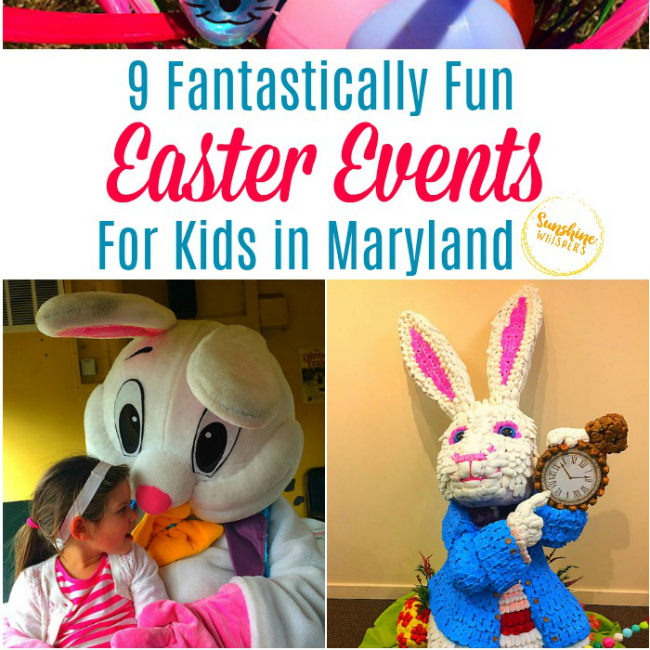 easter events for kids in maryland