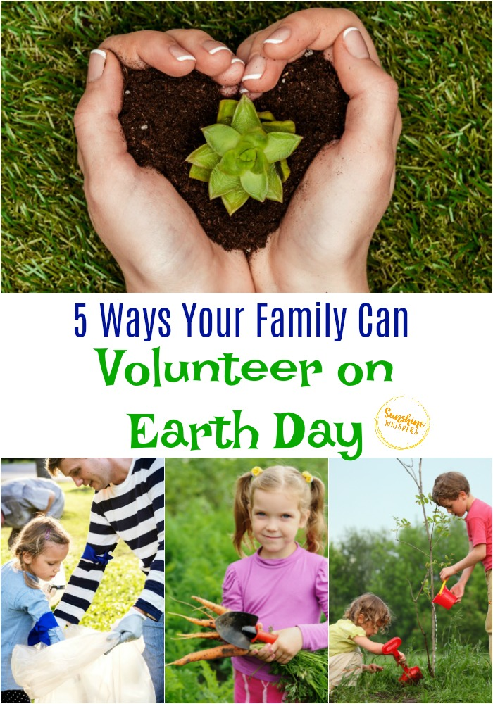 ways your family can volunteer on earth day