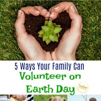 5 Ways Your Family Can Volunteer On Earth Day