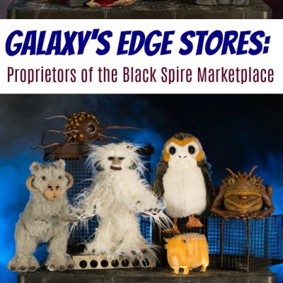 Galaxy's Edge Stores: Proprietors of the Storied Black Spire Marketplace