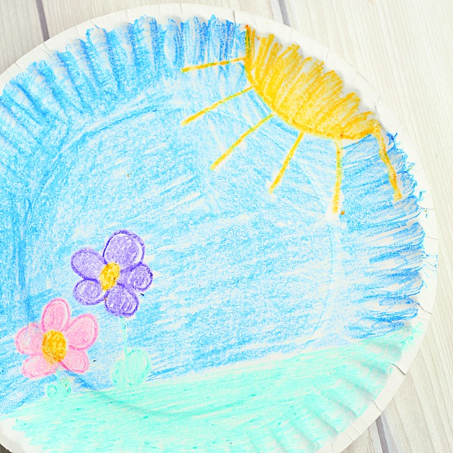 bunny paper plate craft for kids
