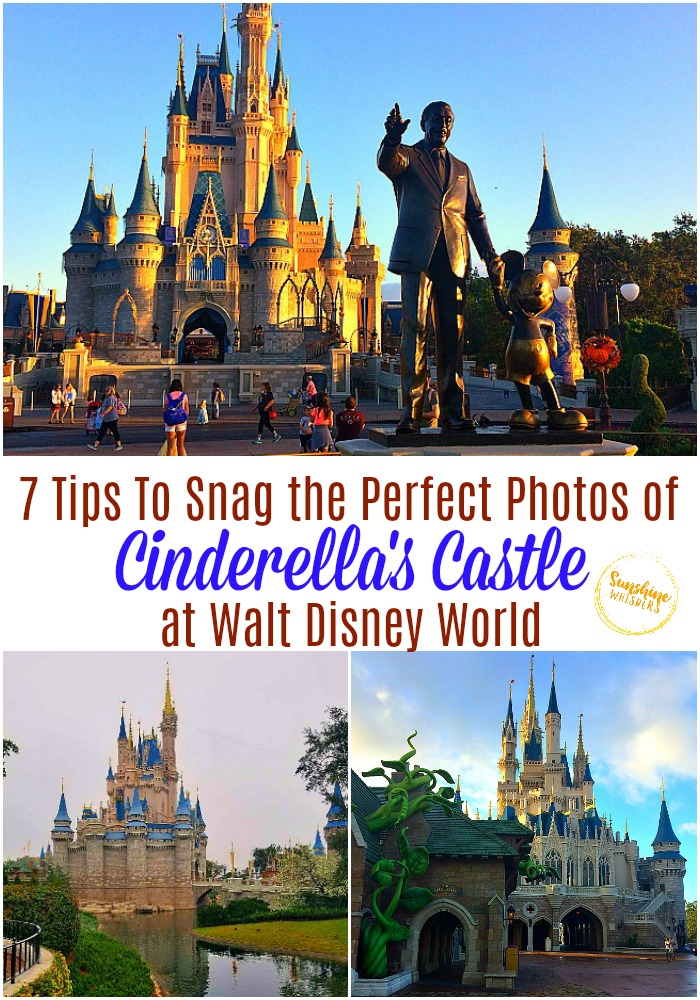 best photos of cinderella's castle