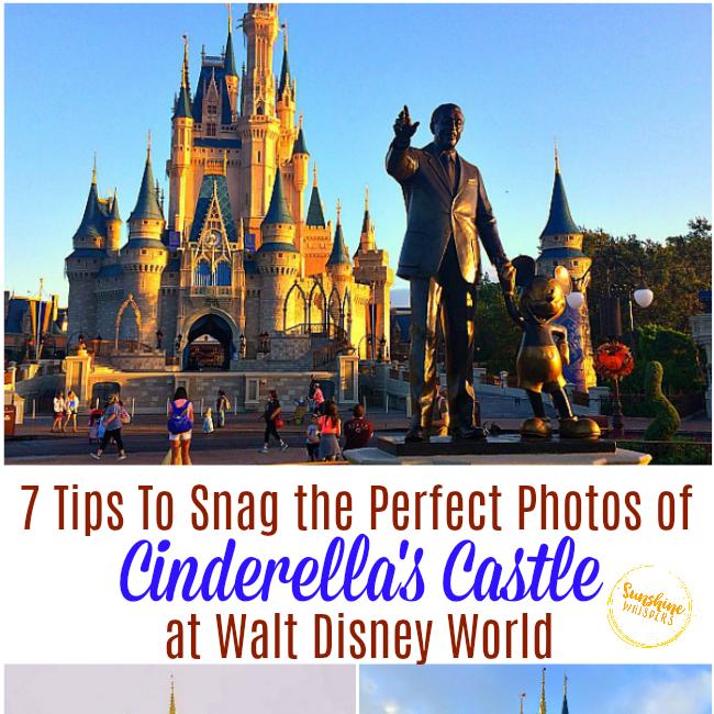 best photos of cinderella's castle