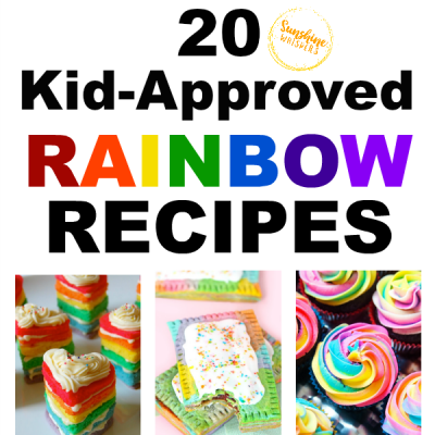 20 Kid Approved Rainbow Recipes