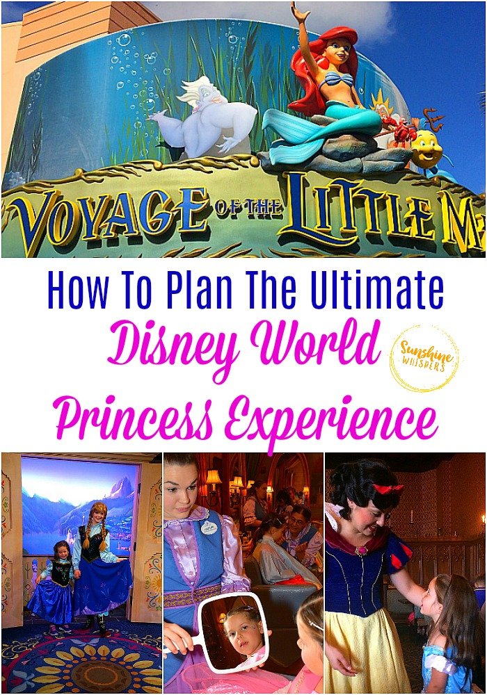 plan the ultimate disney world princess experience