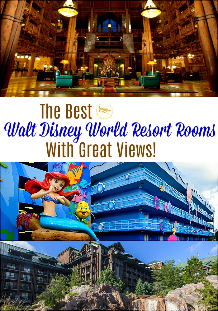 walt disney world resort with great views