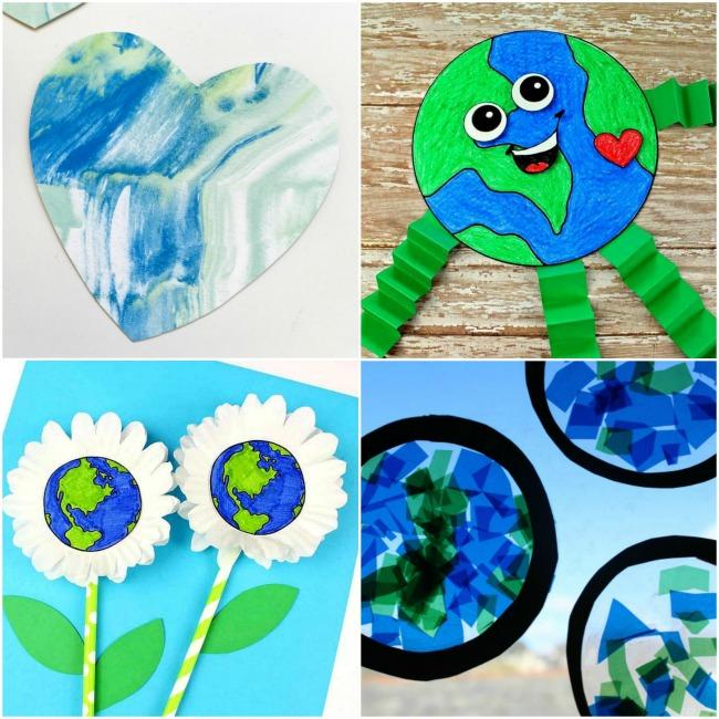25 Super Fun Earth Day Crafts Kids Will Love