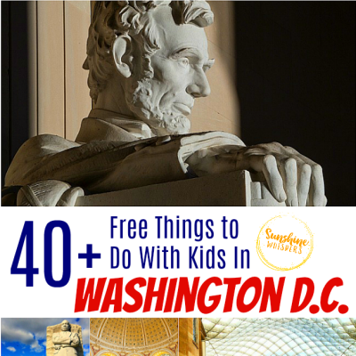 40+ FREE Things To Do With Kids In DC