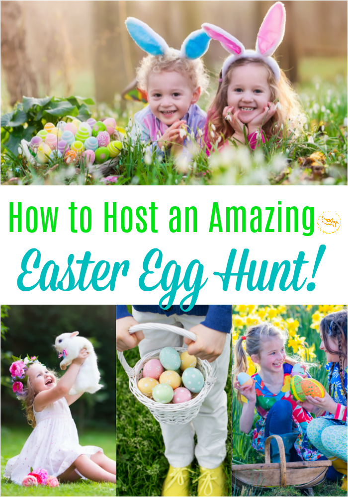 host an amazing easter egg hunt for kids