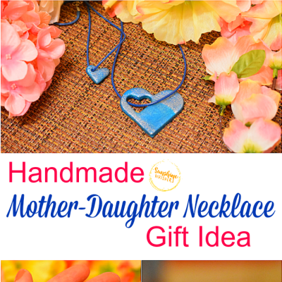 Handmade Mother-Daughter Necklace Gift Idea