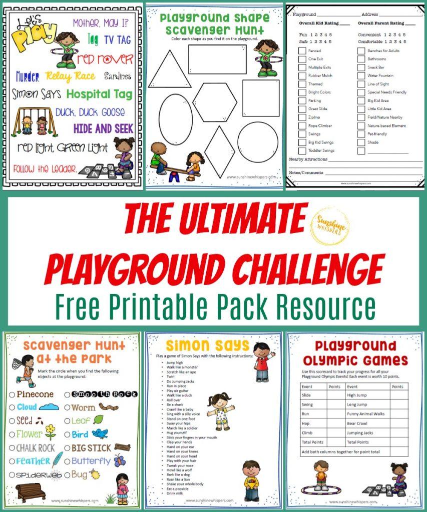 playground challenge