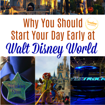 Why You Should Start Your Day Early at Disney