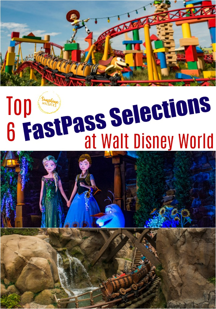 Best Fastpass choices at Disney World