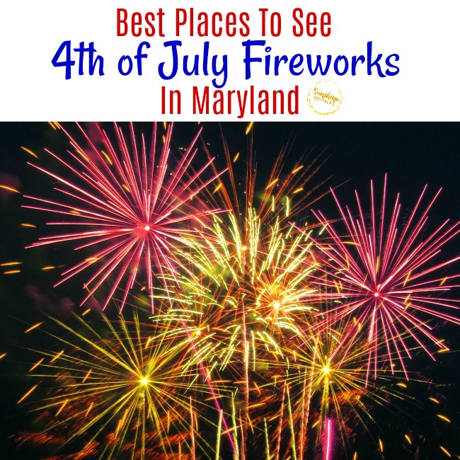 May The 4th Be With You Dc: The Best Places To See 4th Of July Fireworks In Maryland