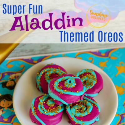 Super Fun Aladdin Themed Oreos