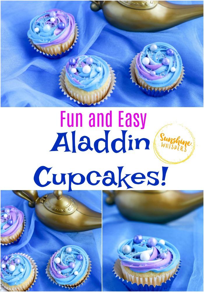 aladdin cupcakes