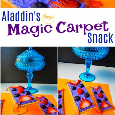 aladdin's magic carpet snack