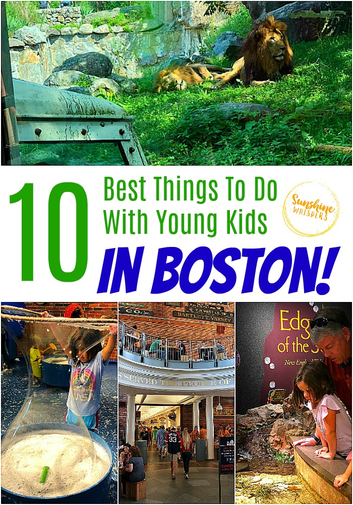 best things to do in boston with young kids