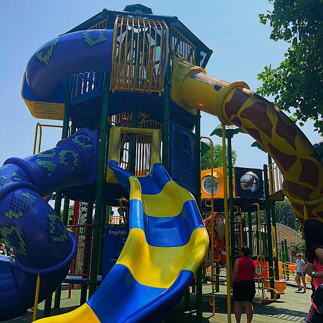 franklin park zoo playground