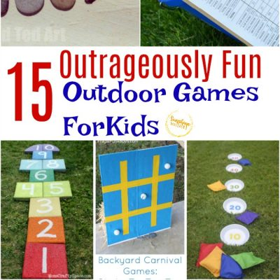 15 Outrageously Fun Outdoor Games for Kids this Summer