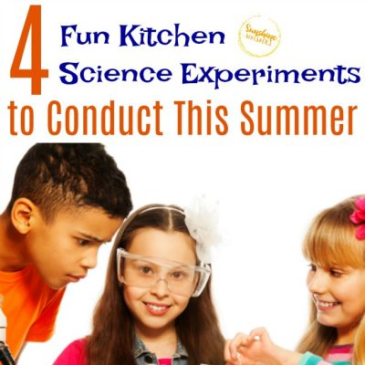 4 Fun Kitchen Science Experiments To Conduct This Summer