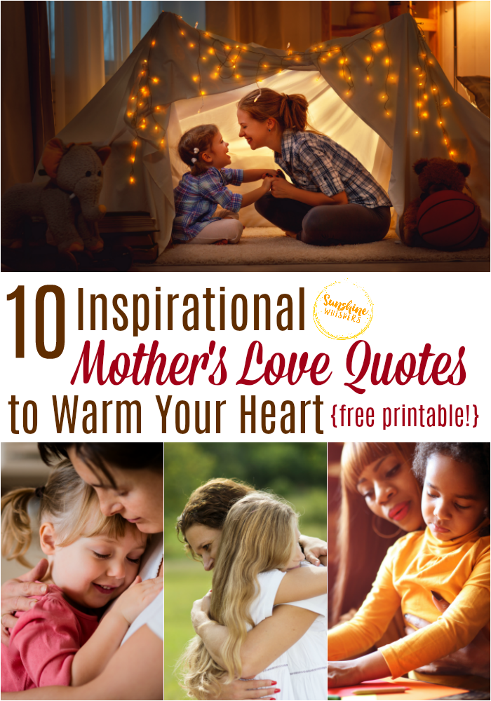 inspirational mothers love quotes
