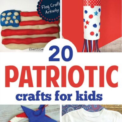 20 Super Cute Patriotic Crafts For Kids