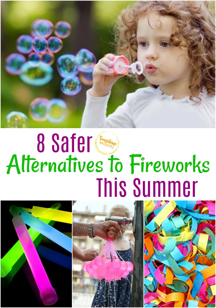 safer alternatives to fireworks