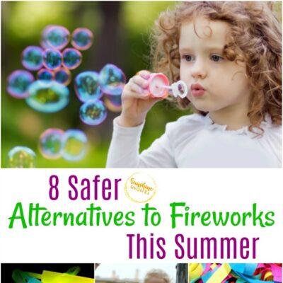 safer alternatives to fireworks