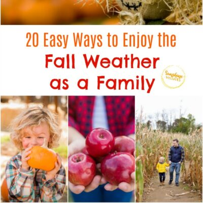 20 Easy Ways to Enjoy the Fall Weather as a Family