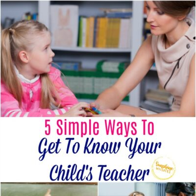 get to know your child's teacher