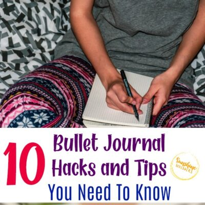 10 Bullet Journal Hacks and Tips You Need to Know