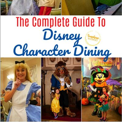 The Complete Guide To Disney Character Dining