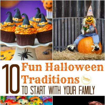 10 Fun Halloween Traditions to Start with your Family