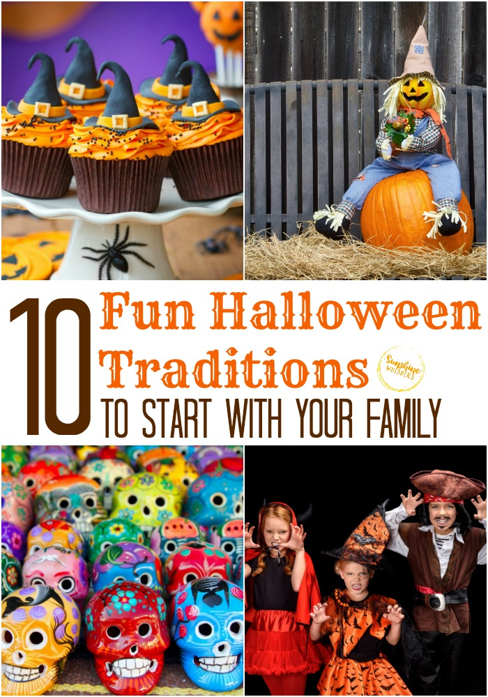 fun halloween traditions