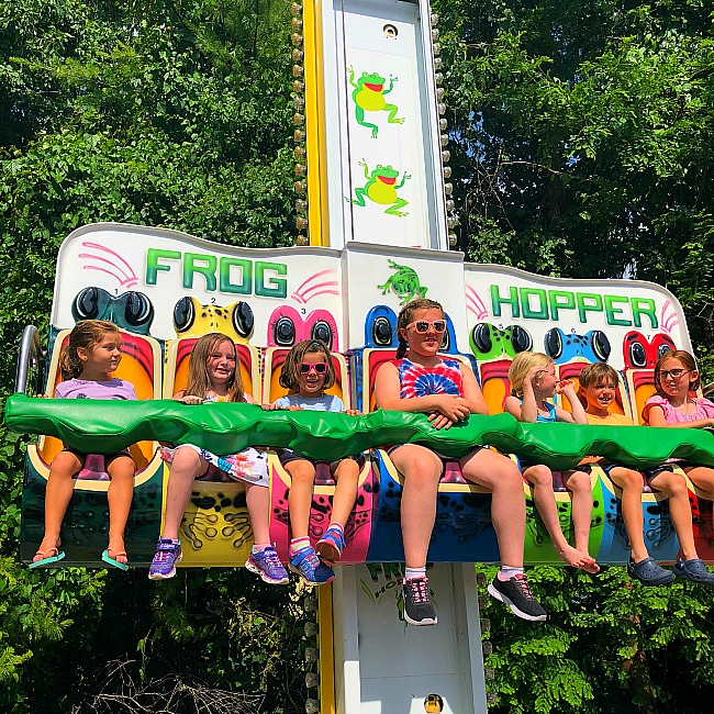 hersheypark with kids