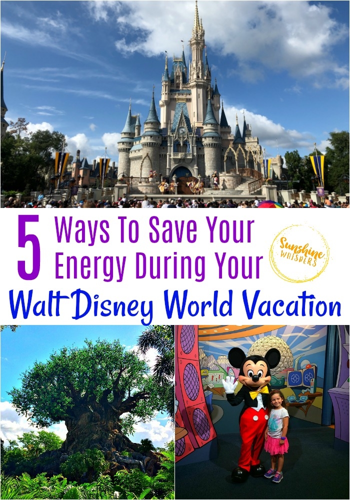 save energy during your walt disney world vacation