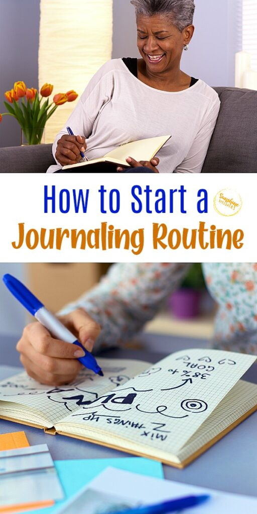 start a journaling routine