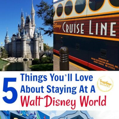 5 Things You'll Love About Staying At A Walt Disney World Resort