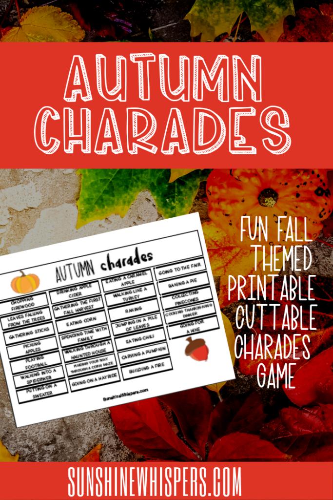 autumn charades