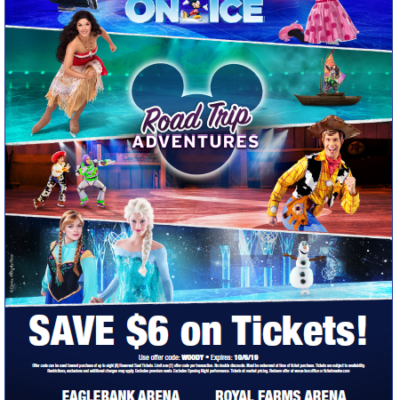 Disney On Ice presents Road Trip Adventures AND a Fantastic GIVEAWAY!
