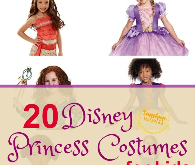 disney princess costumes for kids
