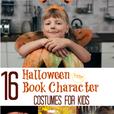 16 Halloween Book Character Costumes for Kids