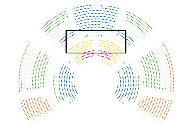 volta seating