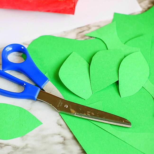 apple paper bag craft for kids